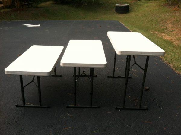 4 ft folding tables rental