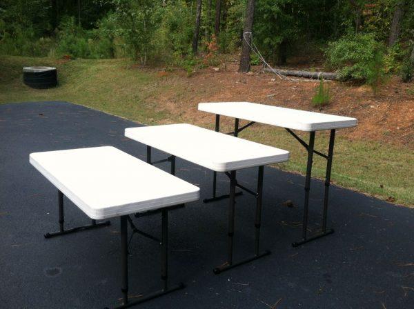 4ft folding tables rentals