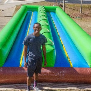 Dual Lane slip and slide rental
