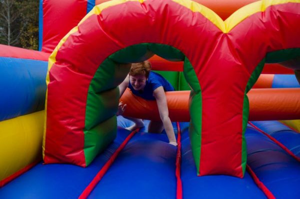 Obstacle course inflatable for rent in Georgia