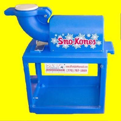 snocone machine rental