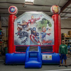 Avengers Inflatable Jumper