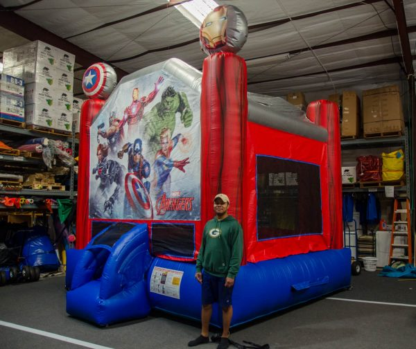 avengers jumper bouncehouse