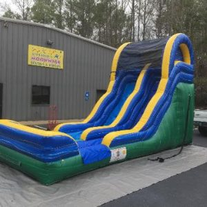 backyard inflatable slide rental