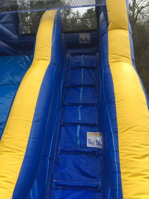 backyard slide inflatable
