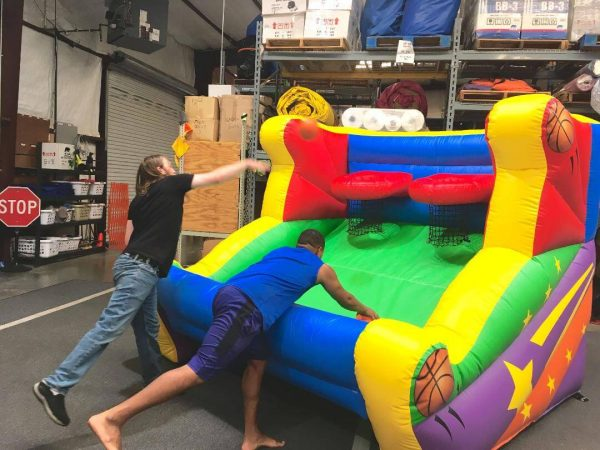 Basketball Shoot Inflatable with hoop