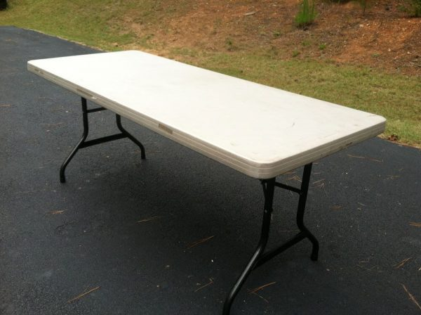 folding tables for rent