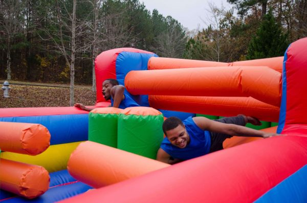 fun obstacle course for rent
