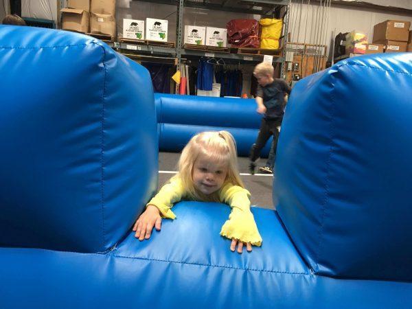 gaga ball pit inflatable