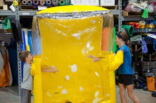 Cash Cube Party Inflatable