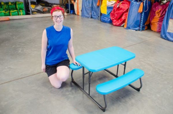 kiddie picnic table for rent