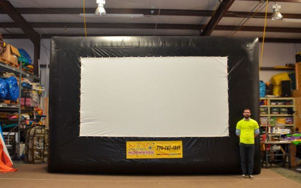 medium movie screen inflatable rental