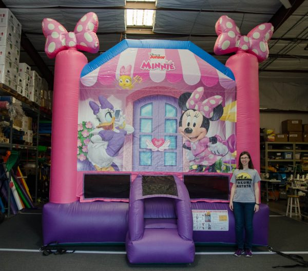 Minnie Mouse Bounce House for Rent