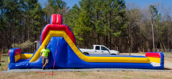Midway Inflatable Slide wet or dry
