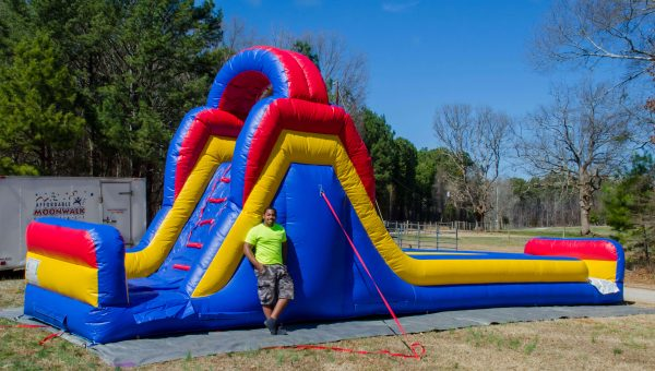 Inflatable Midway Slide Wet or Dry