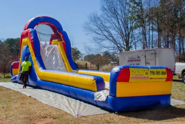 midway inflatable slide rental in GA