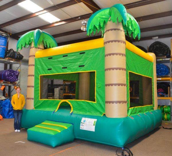 palm tree jumpy inflatable