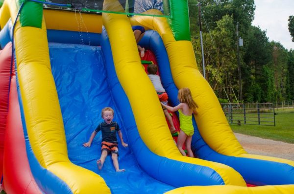 waterslide moonwalk rental