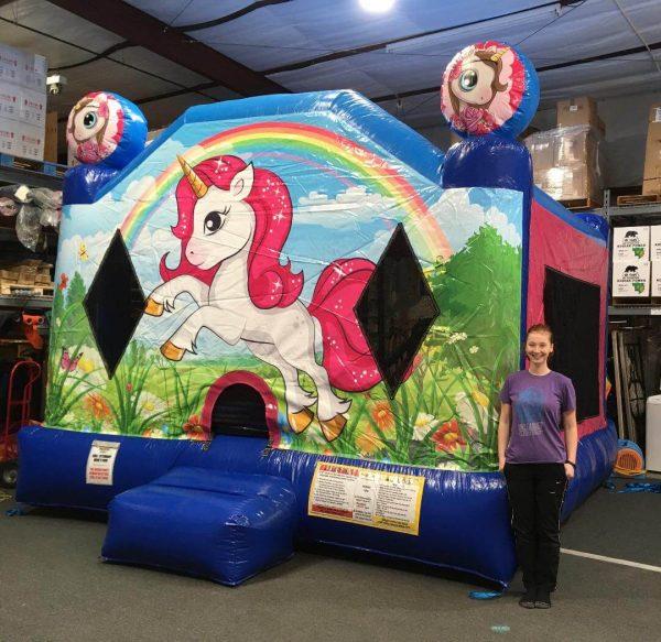 Unicorn Moonwalk Rental